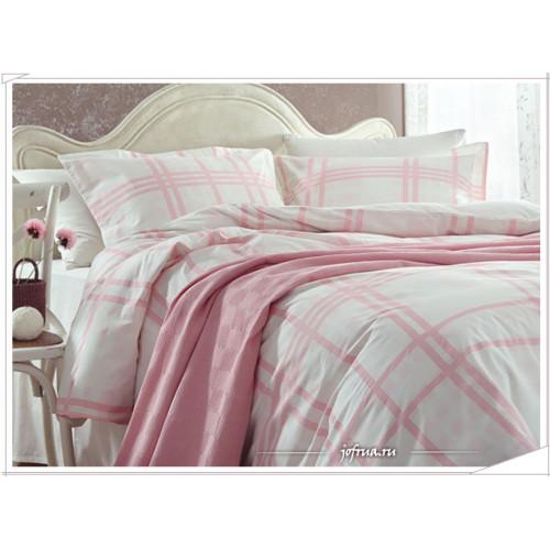Набор с покрывалом Gelin Home Asos (розовый) евро