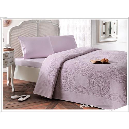 Набор с покрывалом Tivolyo Alfredo (лиловый) 2-спальный