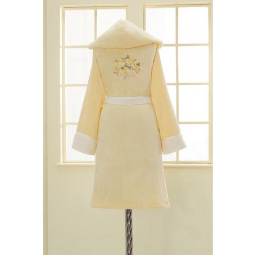 Халат женский Soft Cotton Nehir (желтый)