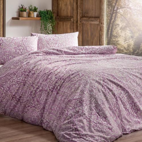 Постельное белье Tivolyo Home Damask (розовое)
