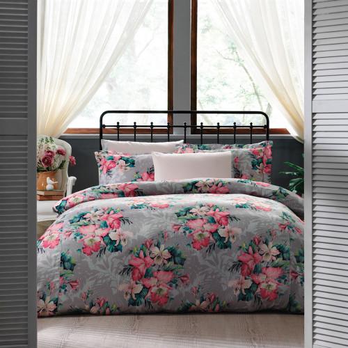 Постельное белье Tivolyo Vitta (розовое)