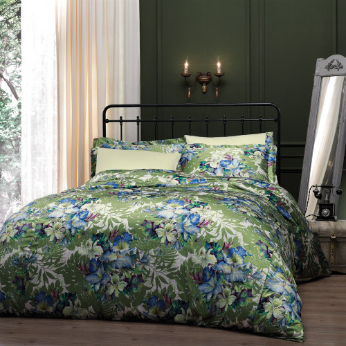 Постельное белье Tivolyo Vitta (зеленое)