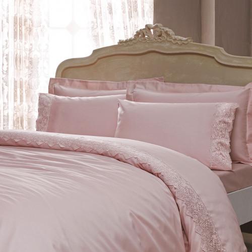 Постельное белье Tivolyo Minoso (розовое)