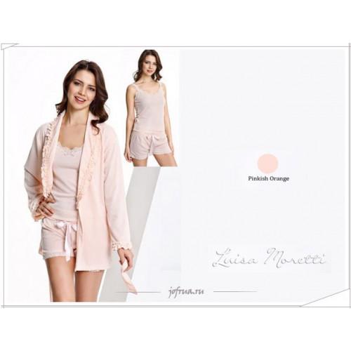 Пижама с халатом Luisa Moretti STELLA