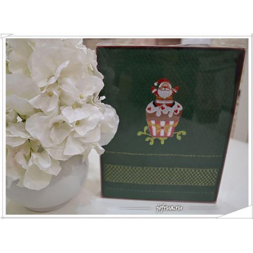 Подарочное полотенце La Villa Dolcetti зеленое