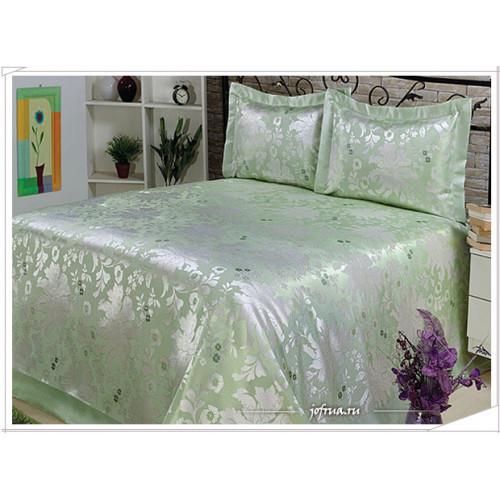 Покрывало Nazsu Cinar (зеленое) 240х260