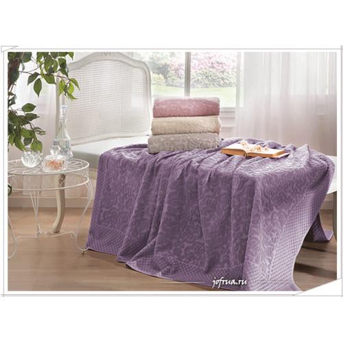 Покрывало Tivolyo Home Elips (фиолетовое)