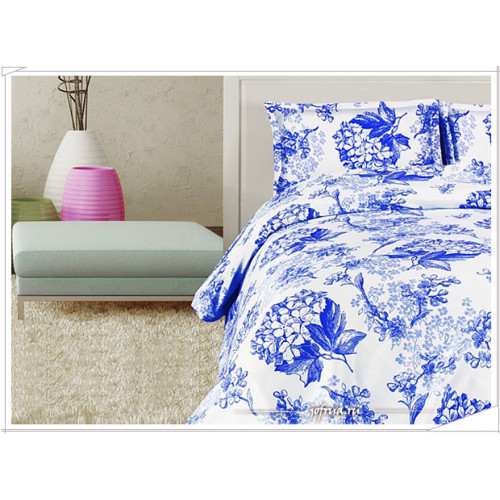 Постельное белье Altinbasak Luisa (голубое)