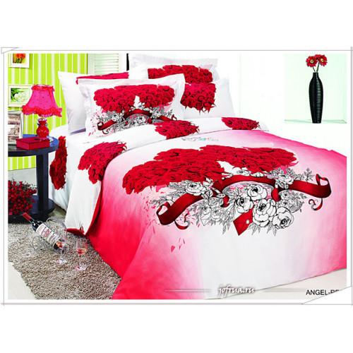Постельное белье Arya Angel (красное)