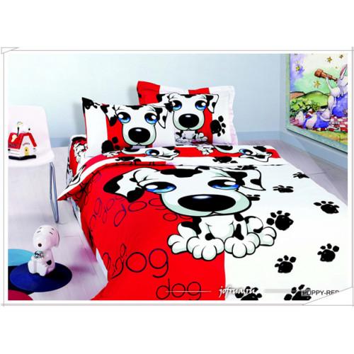 Постельное белье Arya Puppy-red