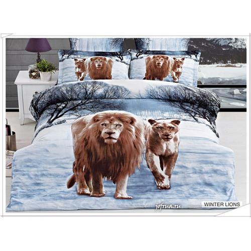 Постельное белье Arya Winter Lions