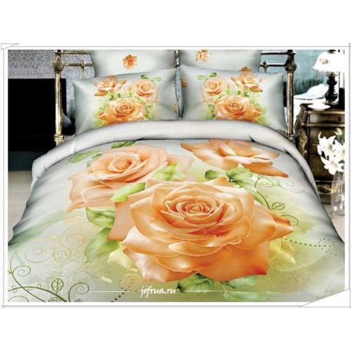 Постельное белье Karven 476 Персиковые Розы