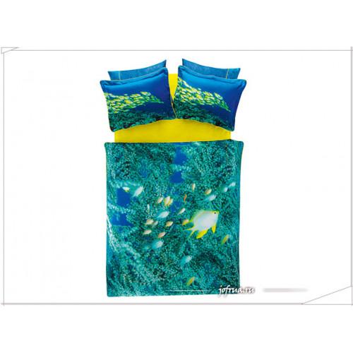 Постельное белье TAC Derin Tutku Neon евро