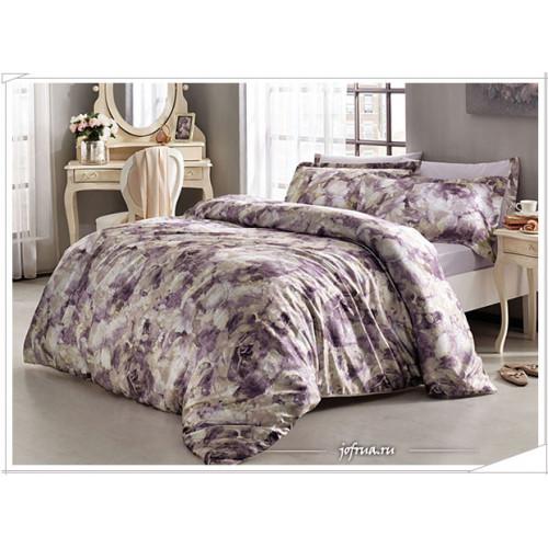 Постельное белье Tivolyo Ella (фиолетовое)