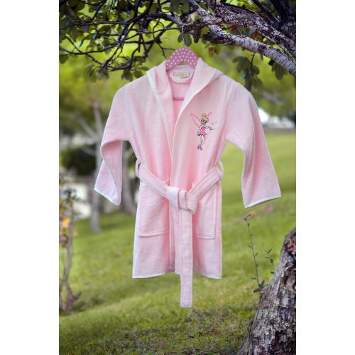 Детский халат Pupilla Kids (розовый)