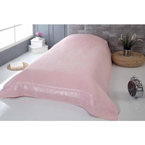 Покрывало-простынь Pupilla Modal Soft (грязно-розовое) 160x220