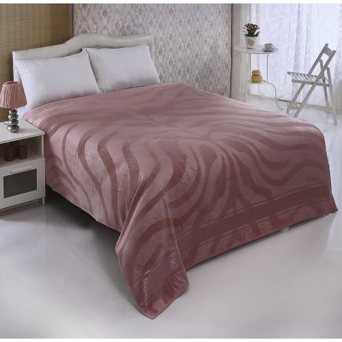Покрывало-простынь Pupilla Zebra (грязно-розовый) 200x220