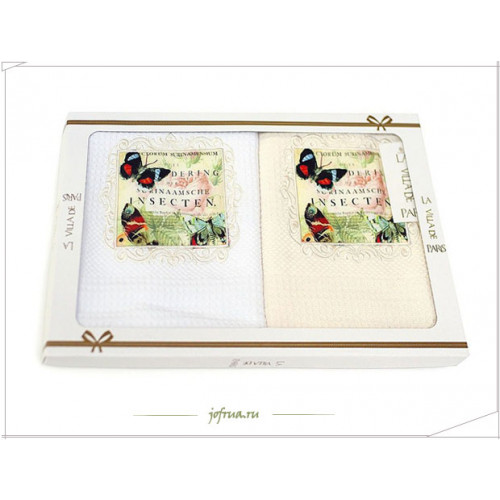 Салфетки для кухни La Villa Butterfly Flower (2 предмета) 40х60
