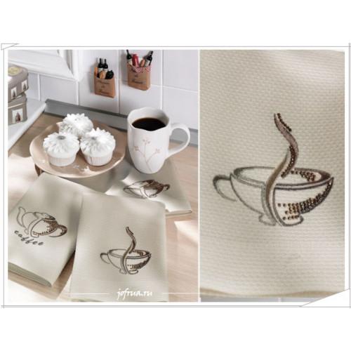Cалфетки для кухни Tivolyo Coffee (3 предмета) 40х60
