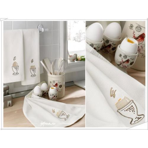 Cалфетки для кухни Tivolyo Egg (3 предмета) 40х60