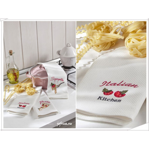 Cалфетки для кухни Tivolyo Italian (3 предмета) 40х60