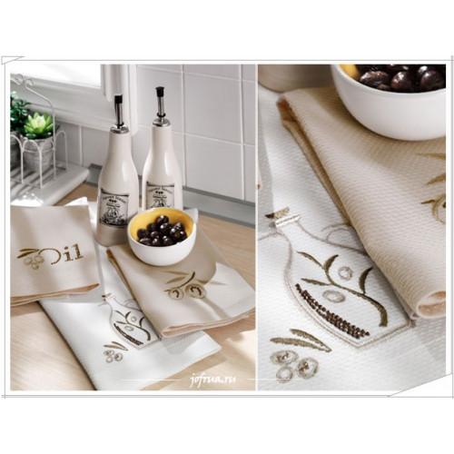 Cалфетки для кухни Tivolyo Oil (3 предмета) 40х60