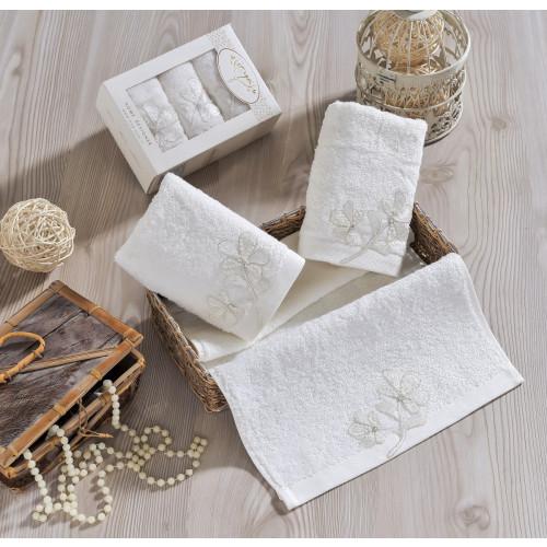 Набор салфеток Irya Senses (молочный) 30x50 (3 шт.)