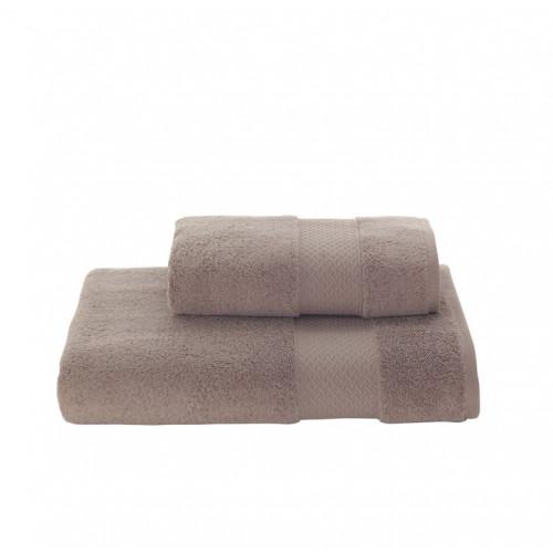 Полотенце Soft Cotton Elegance (коричневое)