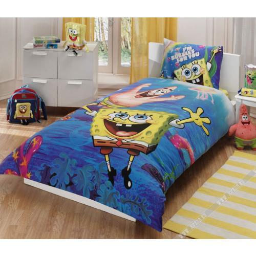 Детское постельное белье Спанч Боб под водой – TAC Sponge Bob Underwater