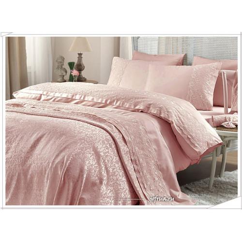Свадебный набор Gelin Home Bella (розовый) евро