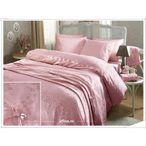 Свадебный набор Gelin (розовый) евро
