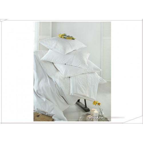 Свадебное постельное белье Gelin Home Cagla (белое) евро