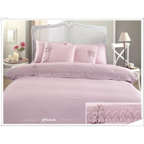 Свадебное постельное белье Caroline (лиловое) евро