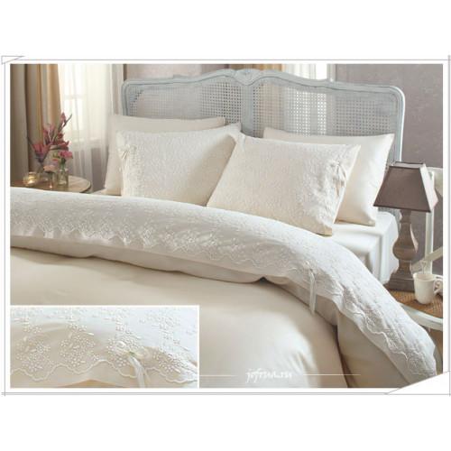 Свадебное постельное белье Gelin (шампань) евро