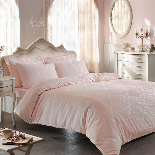 Постельное белье Tivolyo Bambura (розовое)
