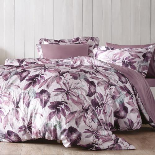 Постельное белье Tivolyo Piante (фиолетовое)