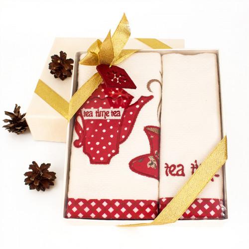 Новогодний набор Tivolyo Home Tea Time (2 предмета, 40х60 см.)