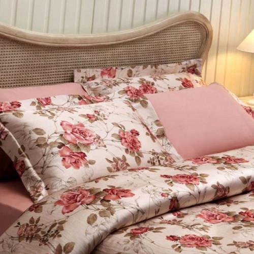 Постельное белье Tivolyo Victoria (розовое)