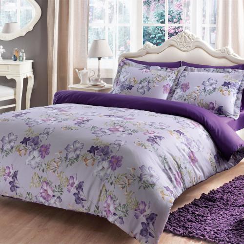 Постельное белье Tivolyo Home Viola (лиловое)
