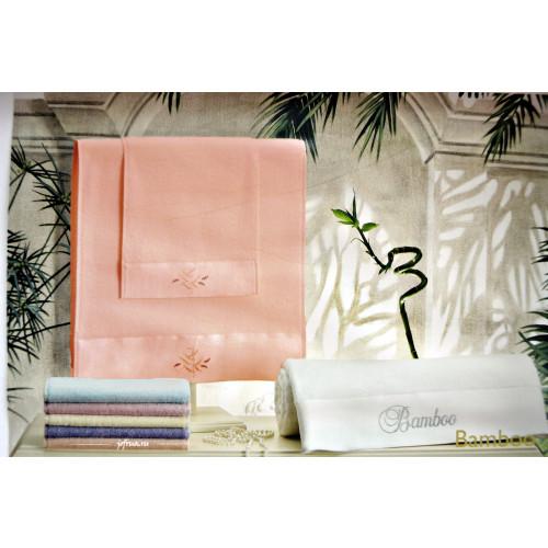Набор полотенец Tivolyo Bamboo (персиковый) 3 предмета