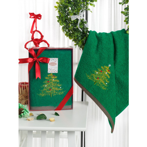 Новогоднее полотенце Karna Noel-2 V5 50x90