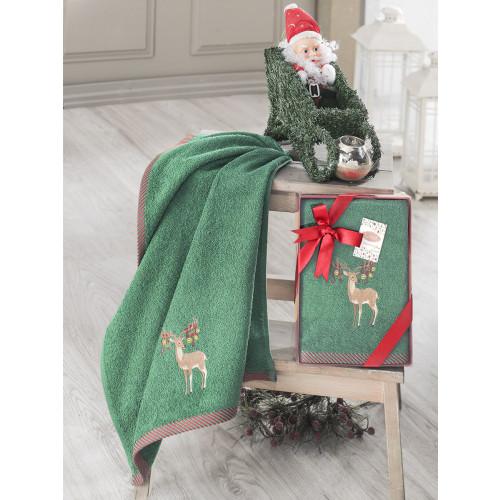 Новогоднее полотенце Karna Noel-2 V6 50x90