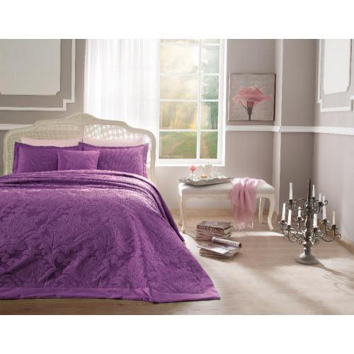 Покрывало Tivolyo Home Versa (лиловое) 260x260