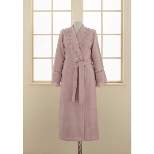 Халат женский Soft Cotton Victoria (лиловый)