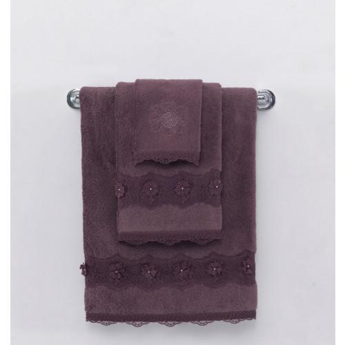 Полотенце Soft Cotton Yonca (фиолетовое)