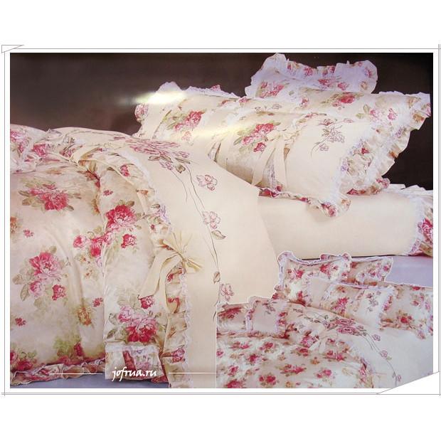 Как сшить постельное белье с кружевами 70