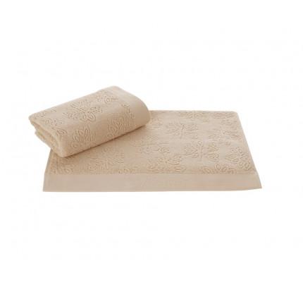 Набор салфеток Soft Cotton Leaf бежевый (3 предмета)