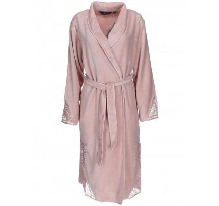 Халат женский Soft Cotton Hazel (грязно-розовый)