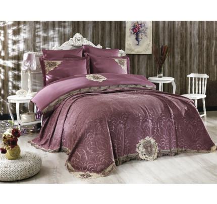 Покрывало Grazie Home Carina (фиолетовое) 260x270