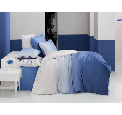 Постельное белье SAREV ранфорс San Marino (V3 голубой)